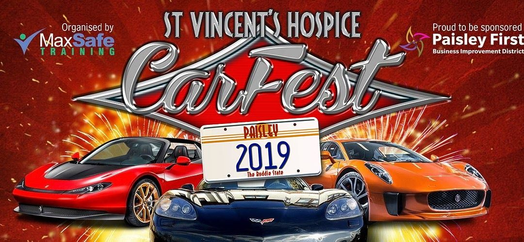 Sponsoring CarFest 2019 – 15th June 2019
